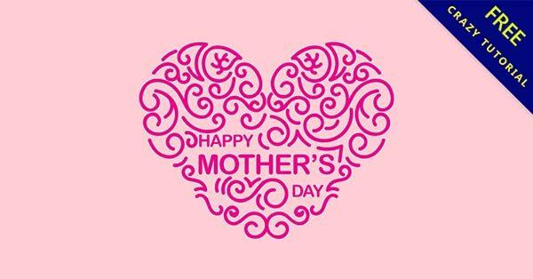 【媽媽節快樂】強烈推薦:27張可愛的媽媽節快樂貼圖下載