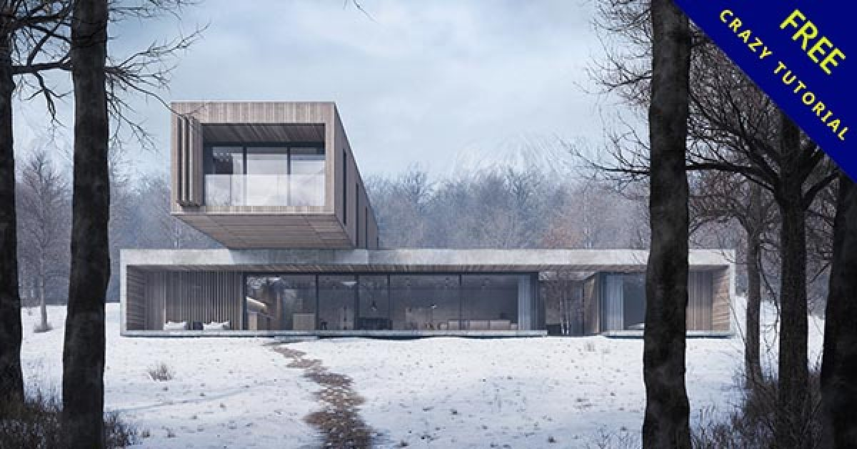 建築風格欣賞,40張國外的建築風格設計作品推薦