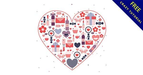 【愛心插圖】精選26款超美的愛心插圖素材下載