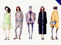 時尚插畫欣賞,49個手繪的時尚插畫作品推薦