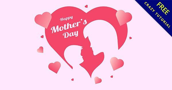 【母親節圖檔】嚴選21款可愛的母親節圖檔素材下載