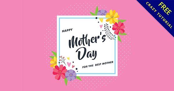 【母親節圖】實用推薦:28個可愛的母親節快樂圖下載