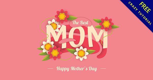 【母親節插圖】乾貨推薦:23套可愛的母親節快樂插圖下載