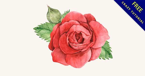 【玫瑰素材】玫瑰推薦:28個可愛的玫瑰花素材下載