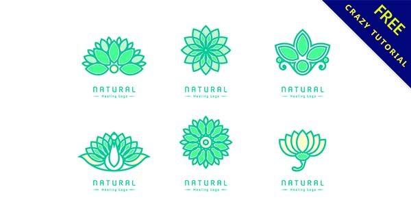 【蓮花logo】小編推薦:42款精緻的蓮花logo圖標下載