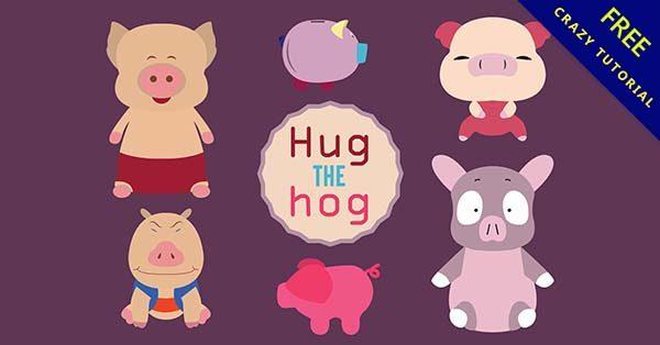 【豬卡通圖】可愛推薦:22張卡通的小豬q版下載
