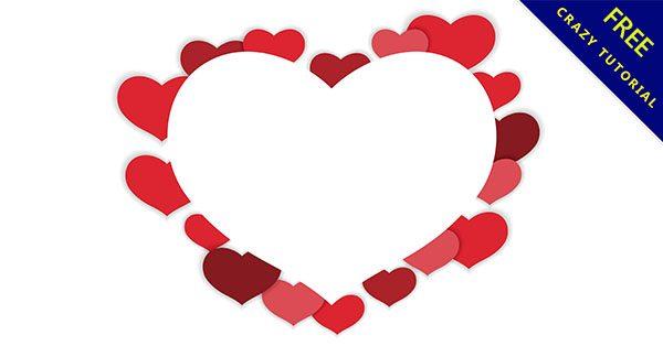 【愛心邊框】邊框推薦:37款可愛的愛心框素材下載
