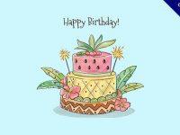 【生日蛋糕圖】生日推薦:36款可愛的生日快樂蛋糕圖下載