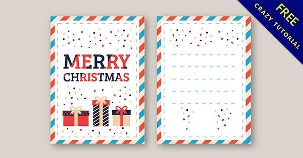 【聖誕卡片】免費推薦:13張可愛的聖誕快樂卡片下載