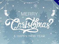 【聖誕字體】嚴選31個英文的聖誕快樂字體下載