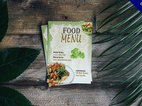菜單封面欣賞,42個有設計感的菜單封面設計推薦