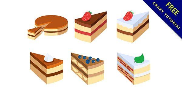 【蛋糕素材】素材推薦:30套可愛的蛋糕圖素材下載