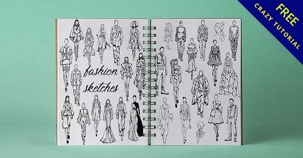 衣服設計圖欣賞,35款時尚的衣服圖設計作品推薦