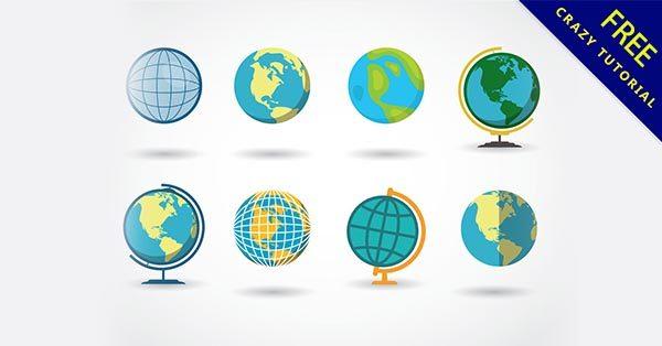 【地球插圖】插圖推薦:24張可愛的地球小插圖下載