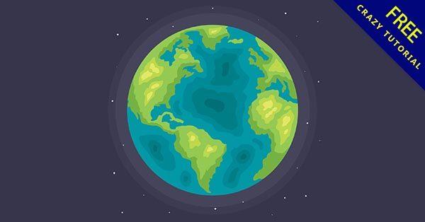 【地球q版】精選27張可愛的地球q版圖下載