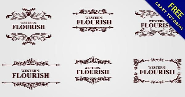 【復古邊框】28套唯美的花式復古邊框下載