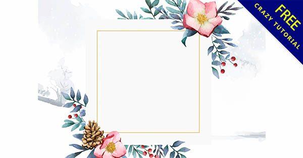 【手繪花邊】嚴選推薦:32套可愛的手繪花邊圖案下載