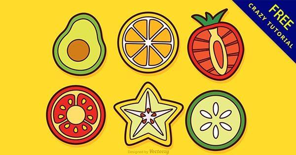 【水果插畫】23個手繪的可愛水果插畫下載