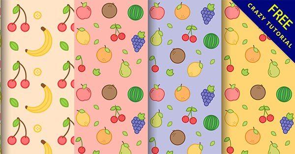 【水果背景】嚴選30套可愛的水果背景圖下載