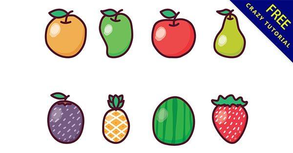 【水果插圖】水果推薦:23張精美的水果小插圖下載