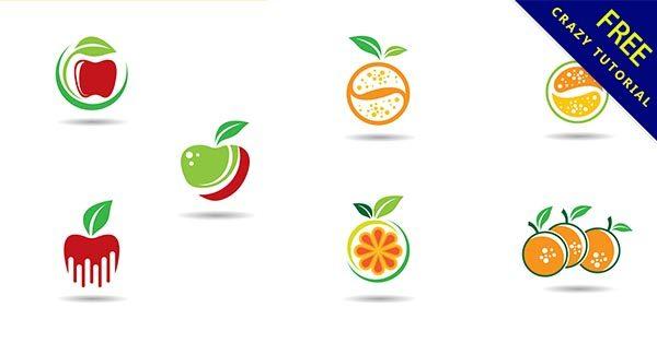 【水果logo】商標推薦:23張有設計感的水果商標圖下載