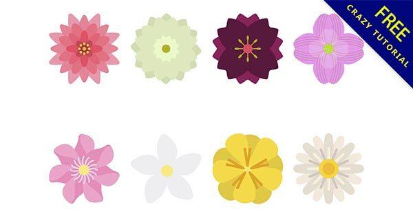 【花圖案】花圖推薦:26款可愛花的圖案下載