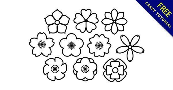 【花圖騰】圖騰推薦:29套可愛的花朵圖騰下載