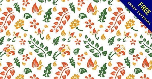 【花紋路】復古推薦:33張有經典的花朵紋路下載