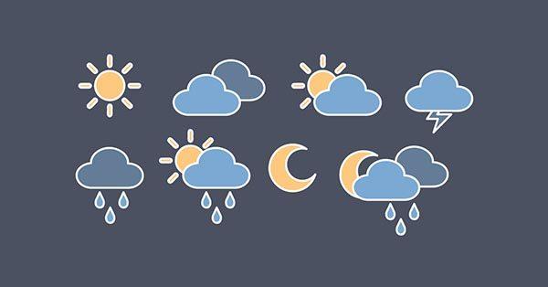 【雲 icon】標誌推薦:22款有設計感的雲 icon圖案下載