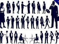 【人物剪影】剪影推薦:33個黑色的人物剪影圖下載