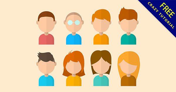 【人物插畫】插畫推薦:29張卡通的人物插畫素材下載