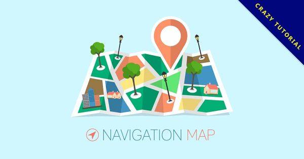 【卡通地圖】強烈推薦:30個可愛的卡通地圖素材下載