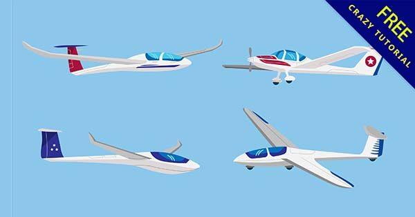 【卡通飛機】素材推薦:21張可愛的卡通飛機圖下載