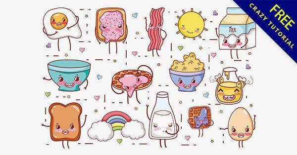 【可愛食物】可愛推薦:33個超萌的可愛食物圖案下載