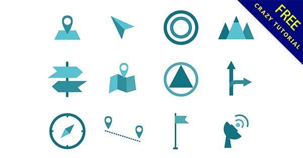 【地標 icon】地標推薦:20套可愛的地標icon素材下載