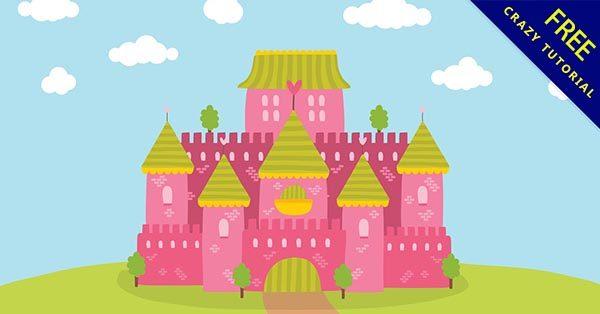 【城堡圖片】強烈推薦:24款可愛的城堡圖片素材下載