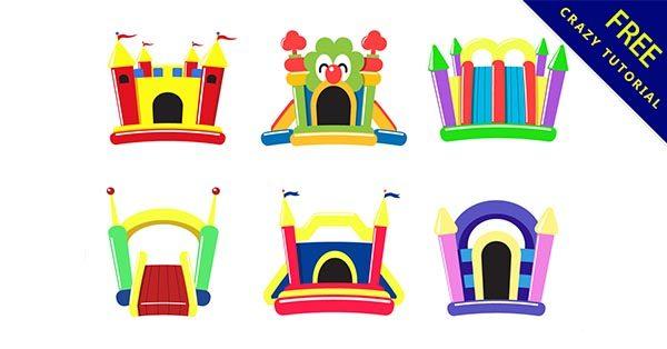 【城堡素材】素材推薦:28套可愛的城堡素材圖案下載