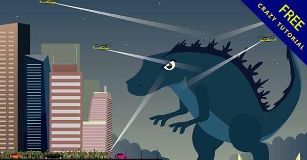 【恐龍插畫】插畫推薦:23個有可愛的恐龍插畫圖下載