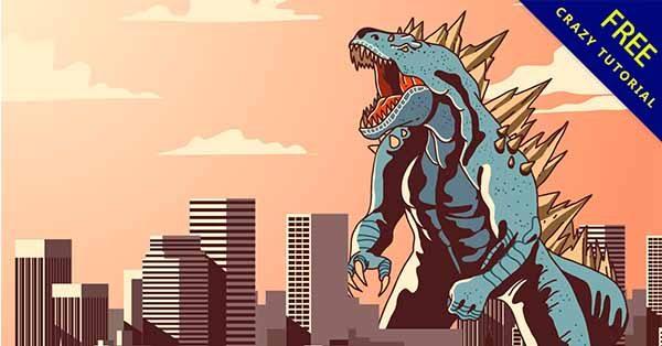 【恐龍素材】素材推薦:39款可愛的恐龍素材圖下載