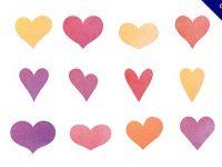 【愛心圖案】小編推薦:32套可愛的愛心圖案素材下載