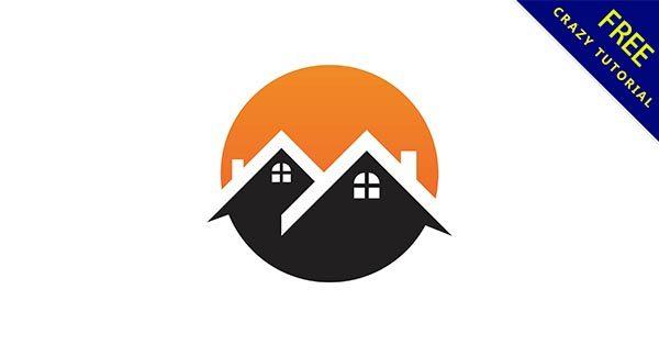 【房子 logo】標誌推薦:44個可愛的房子 logo標誌下載