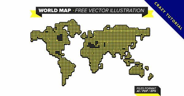 【手繪地圖】強烈推薦:33個可愛的手繪世界地圖下載