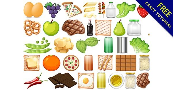 【手繪食物】手繪推薦:18款可愛的手繪食物圖下載