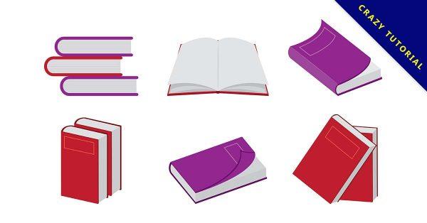【書圖片】書本推薦:20款可愛的書本圖片下載