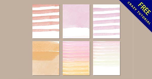 【水彩卡片】卡片推薦:30個手繪的水彩卡片圖下載