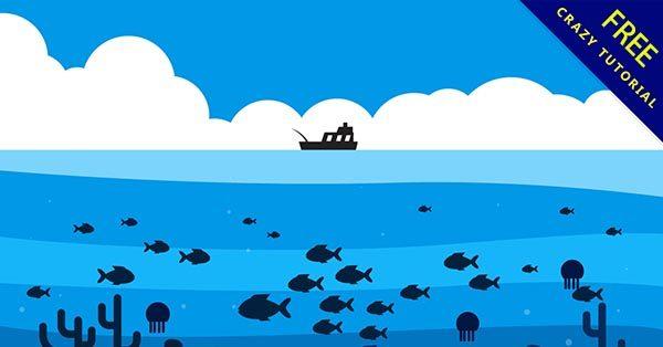 【海洋圖片】圖片推薦:23個卡通的海洋圖片素材下載