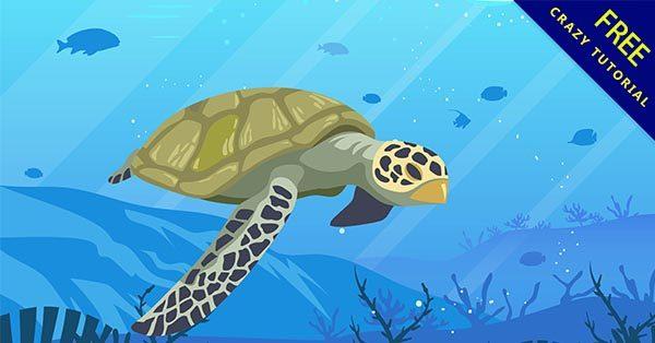 【海龜q版】海龜推薦:25個可愛的海龜q版圖下載