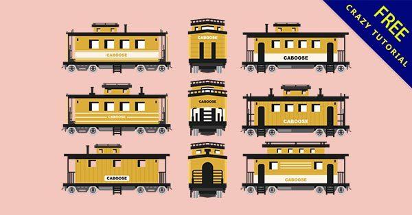 【火車插圖】插圖推薦:27款可愛的火車插圖素材下載
