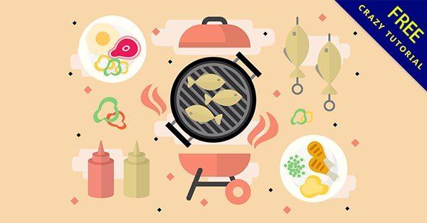【烤肉素材】素材推薦:24套可愛的烤肉素材圖下載