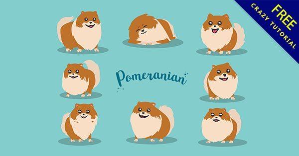 【狗圖案】圖案推薦:31套可愛的小狗圖案下載